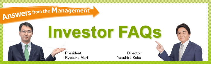 Answers from the Management Investor FAQs